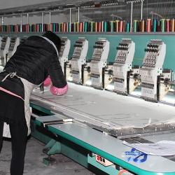电脑绣花 厂房设备