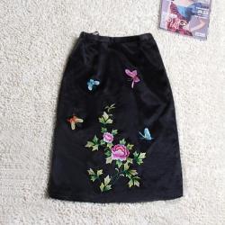 电脑绣花 裙子
