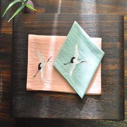 小仙鹤杯垫